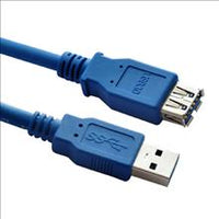 USB 3.0 Cable: 1.5m-1.8m AM-AF Extension