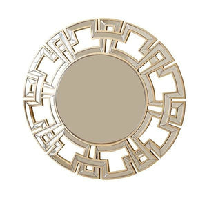 Abbyson Pierre Gold Round Wall Mirror - 50% OFF