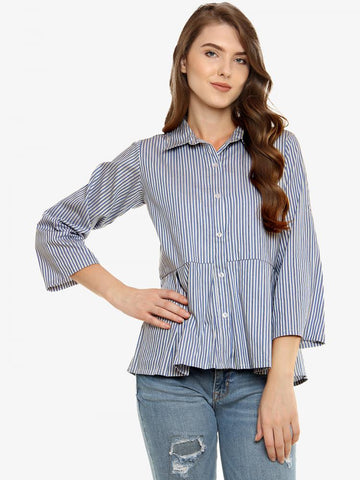 Same Old Mistakes Pleated Shirt
