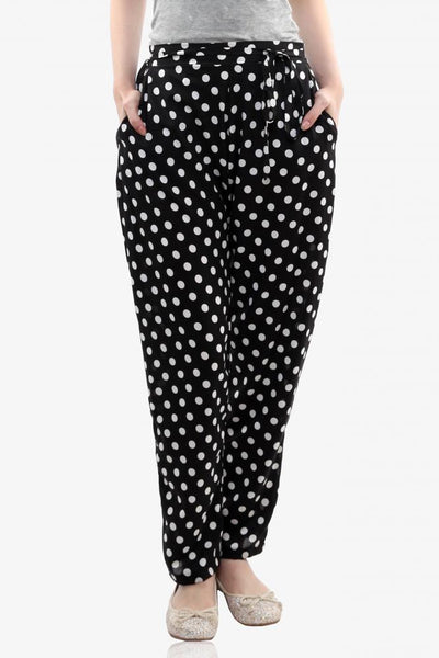 Retro Flashback Polka Print Pants