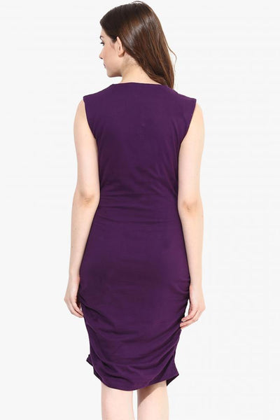 Hug Me Right Bodycon Rouched Dress
