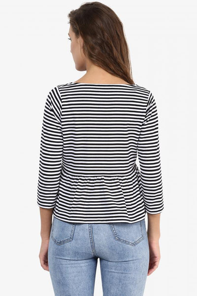 Just Your Type Monochrome Top
