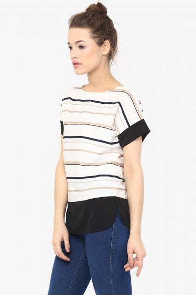 Stripe It Right Stripe Top