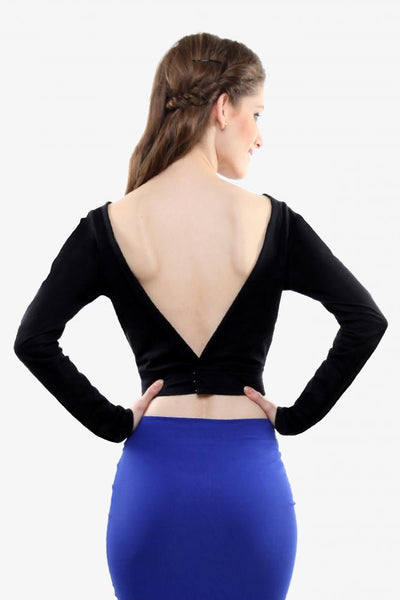 Never Look Back Low Back Crop Top