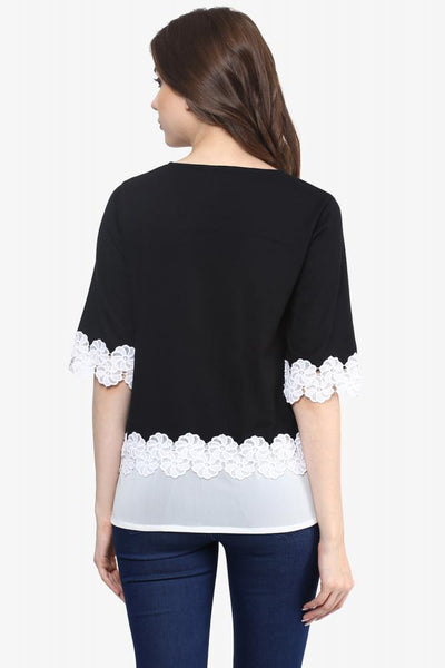 Keep A Secret Lace Top