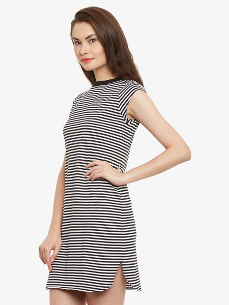 Like I Do Striped Shift Dress