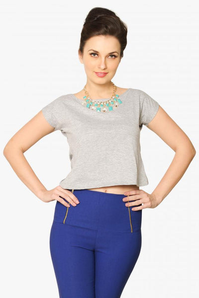 Back' To The Basics Crop Top