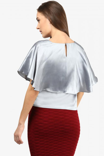 Dangerously Chic Cape Top