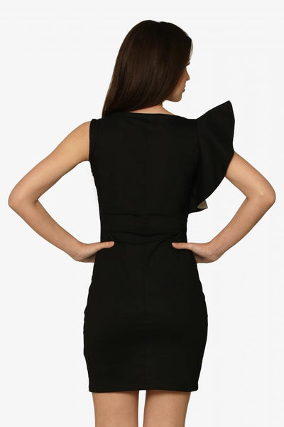 Ruffles And Stuff Jersey Dress
