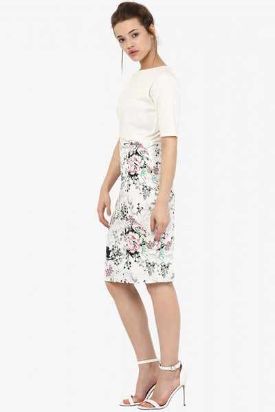 Seize The Day Floral Bodycon Dress
