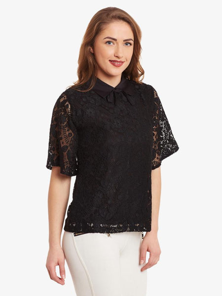 You Know You Like Me Lace Top
