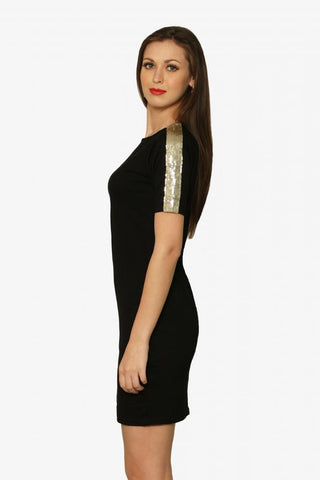 A Hint Of Sparkle T-Shirt Dress