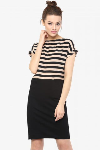 Daytime Dancer Striped Shift Dress
