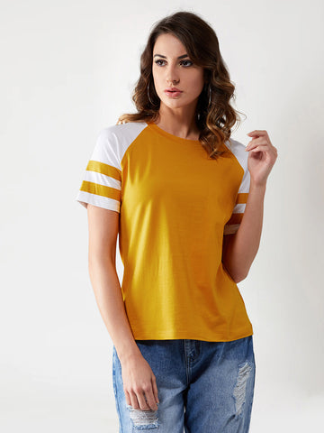 Go For It Colour Block T-Shirt