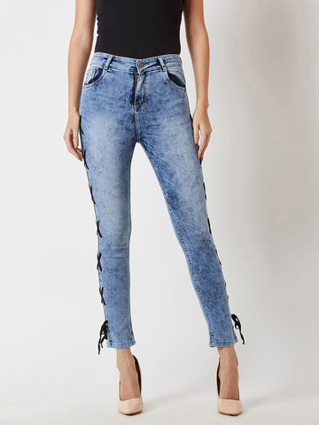 Keep Going Slim High Rise Jeans