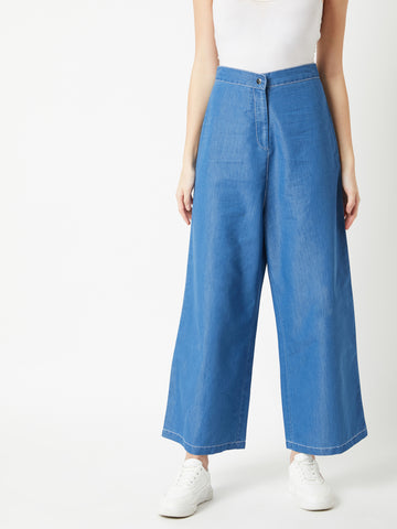 Footloose Flared Denim Pants