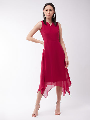 The Beat Goes On Assymetric Dress