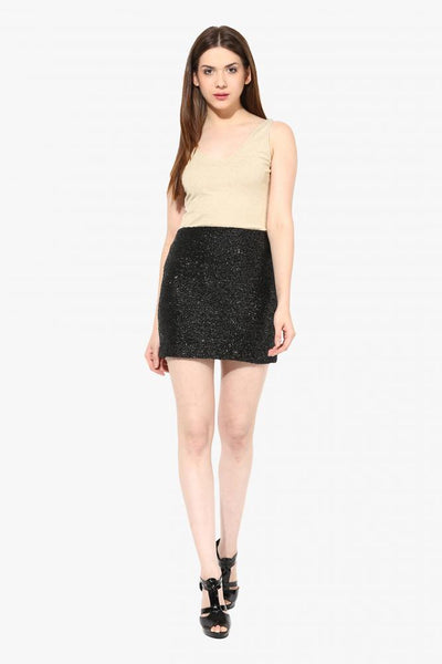 The Dark Night Sequin Skirt
