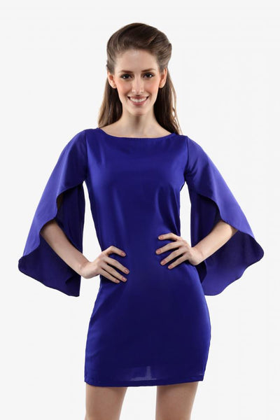 All In The Sleeves Shift Dress