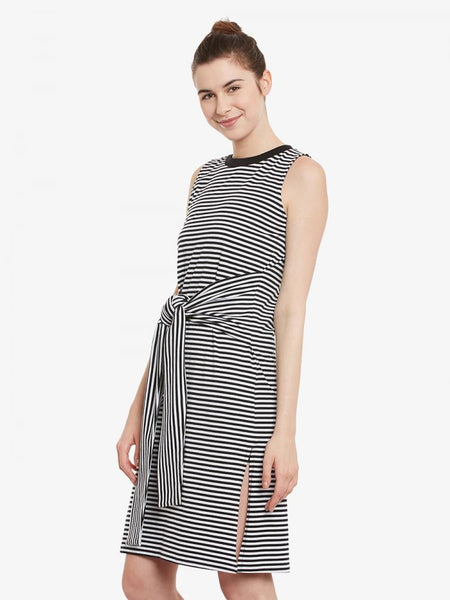 Right Step Up Stripe Shift Dress