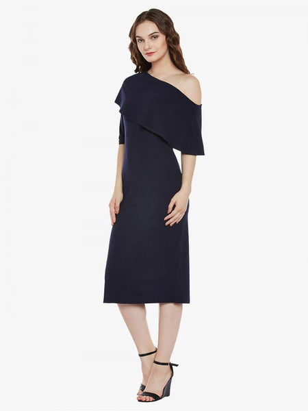 Songs Of Stars One Shoulder Dress