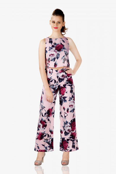 Behind my back cutout jumpsuit