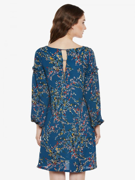 Flower Party Shift Dress