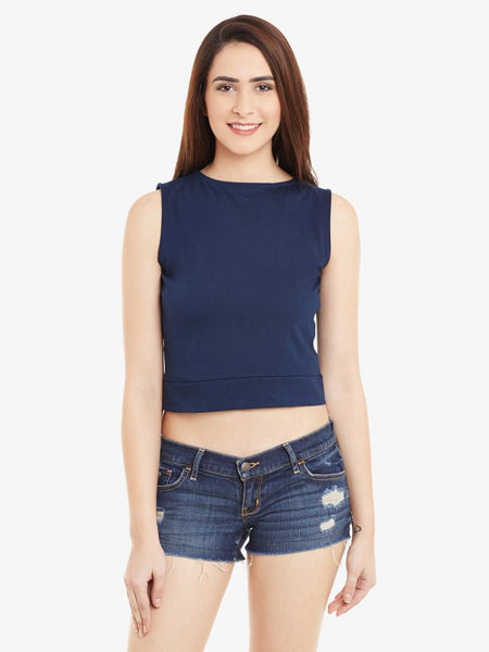 Knock Them Down Crop Top