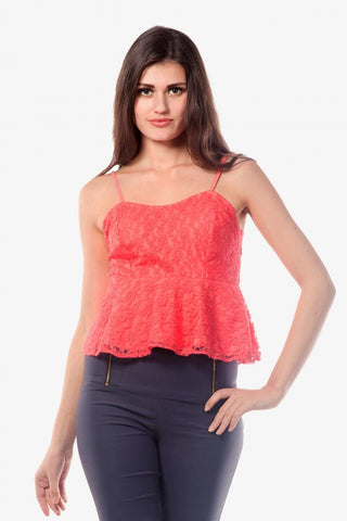All That Flare Peplum Top