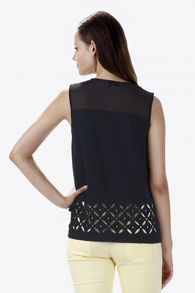 So Crafty Cutwork Top