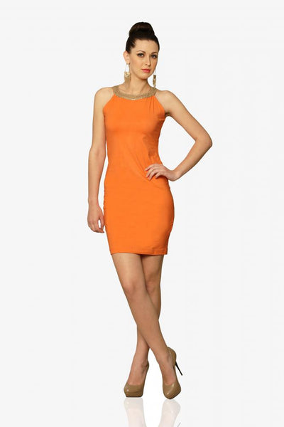 Bodycon And Soul Halter Dress