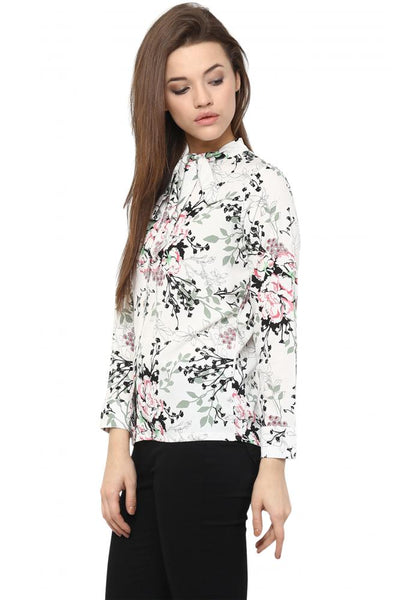 Wasted Love Floral Printed Shirt