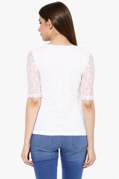 Lace Get Going Top