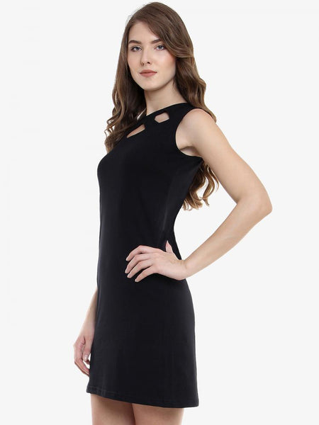 The Exception Cut Out Shift Dress