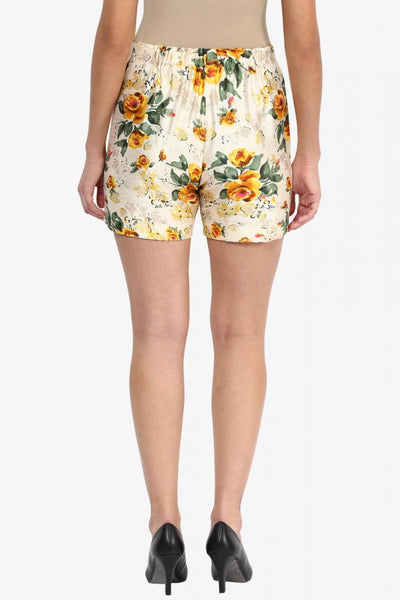 Live A Little Floral Shorts