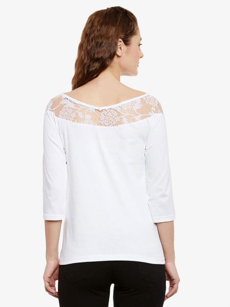 Sweet On You Lace Top