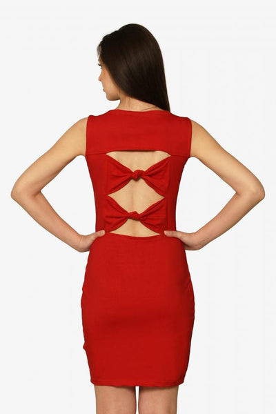 Aim For Fame Cutout Midi Dress