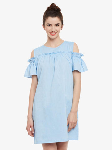 Suddenly Smitten Cold Shoulder Dress