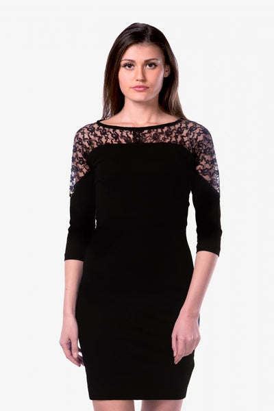 Lace Be Together Bodycon Dress