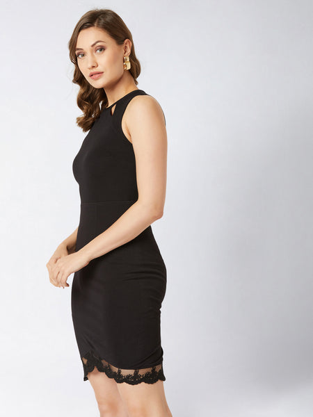 Shine The Walk Lace Bodycon Dress