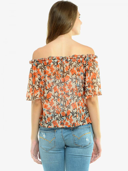 Worth The Wait Bardot Top