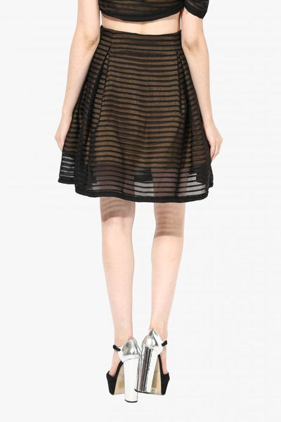 See Through Me Midi Skirt