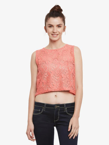 Heading The Crew Crop Top