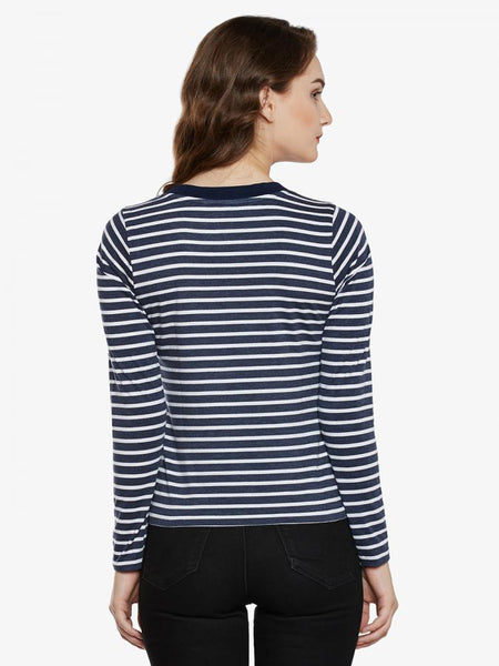 Dive In Right Striped Top