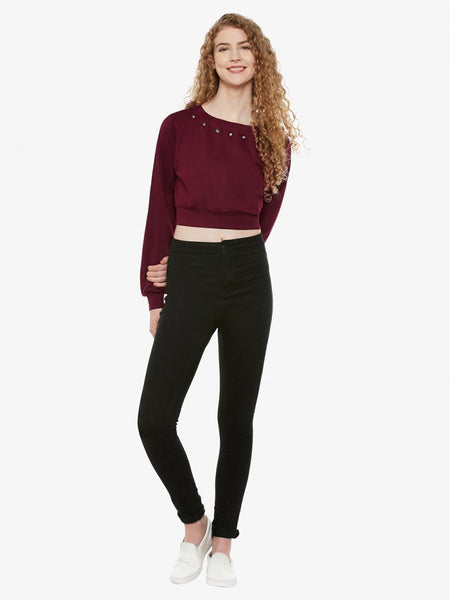 Standout Eyelet Crop Top