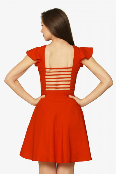 No Strings Attached Skater Dress