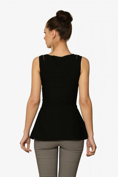 Million Dollar Dame Peplum Top