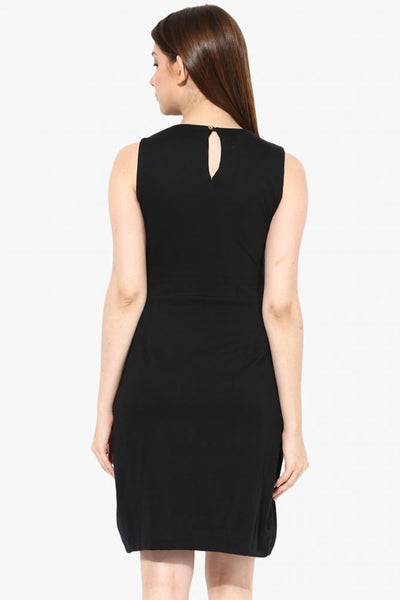 In Slits Bodycon Dress