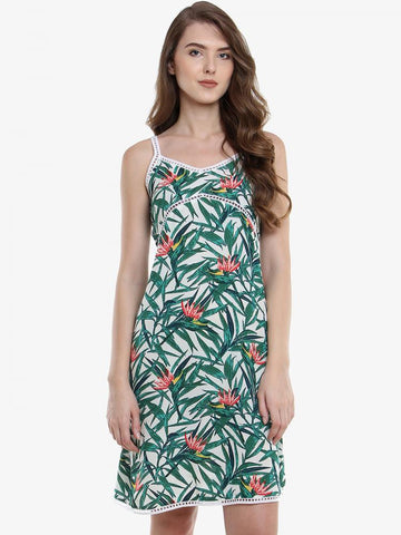 Picnic Date Floral Slip Dress
