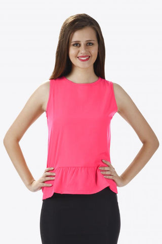 All Is Flare In Love Peplum Top